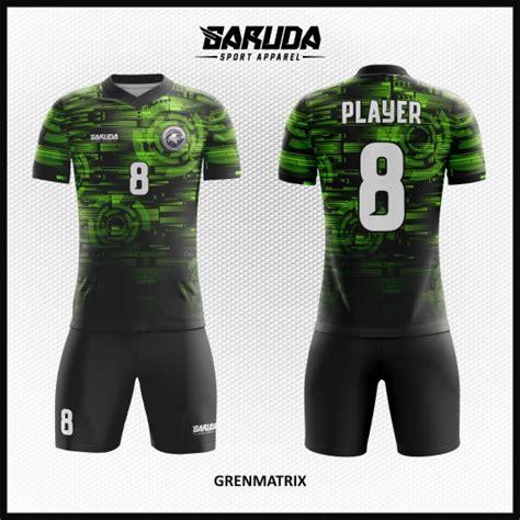 desain baju futsal warna hijau tosca desain baju futsal terbaru grenmatrix hijau hitam garuda
