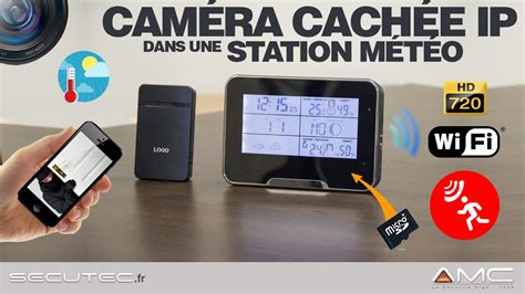 cameri meteo station m 201 t 201 o 201 ra cachee ip wifi hd 720p p2p secutec