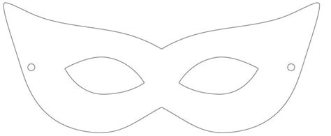 printable masquerade mask template cosplay mask