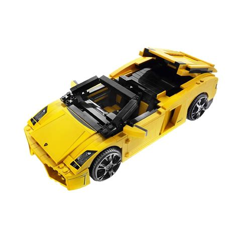 Lamborghini Gallardo Lp560 4 Orange Set 2 Pcs bricker construction by lego 8169 lamborghini