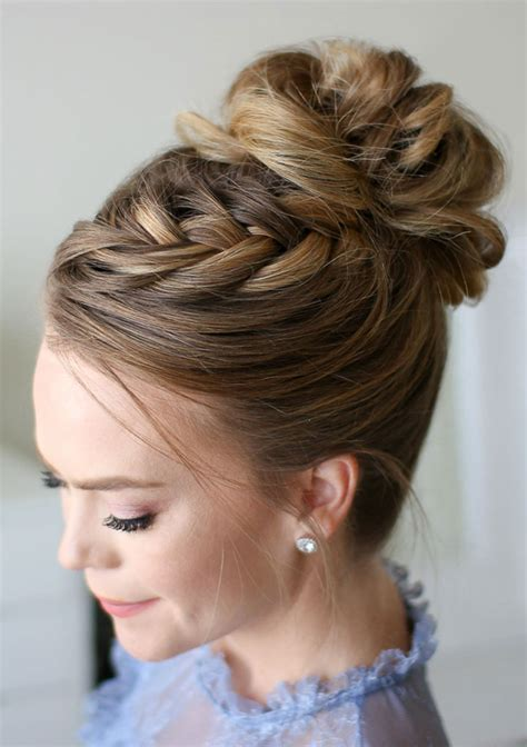 Wedding Hairstyles Updos Braided by Three Of Our Favorite Braided Updos For Brides