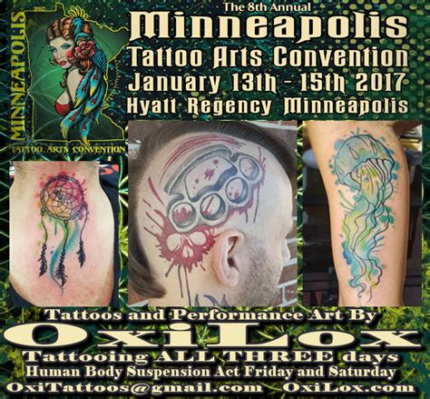 minneapolis tattoo convention minneapolis arts convention oxi lox