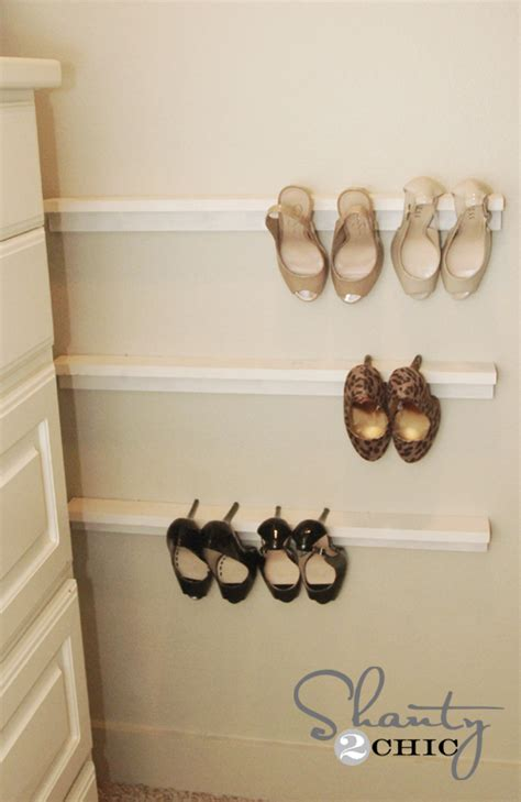 shoe shelves for high heels closet organization shoe organizers diy shanty 2 chic