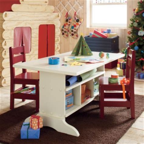 kid craft table with storage wooden elementary play table snob essentials