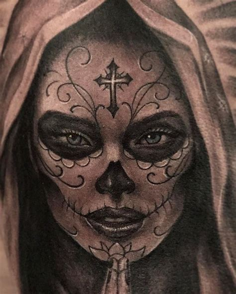 dia de muertos tattoo times better tattoos