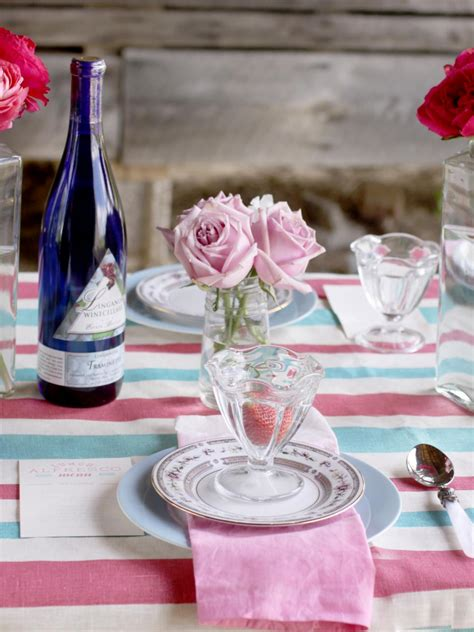 summer table settings 3 stylish summer table setting ideas hgtv