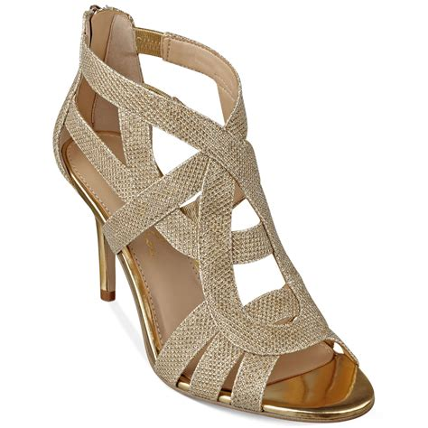 Sandal Deo 3 Marc Stuart Shoes marc fisher nala3 mid heel evening sandals in gold