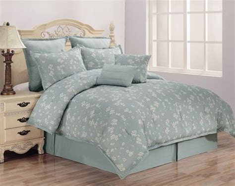 discount comforters sets cascade cherry blossom 8pc king size comforter set