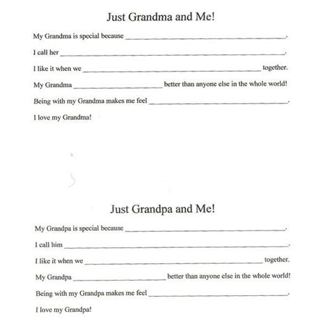 four activities for grandparents day in the preschool and