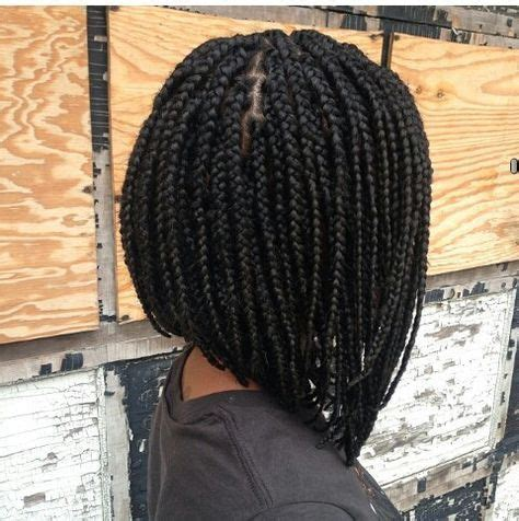a line bob weave 30 short box braids hairstyles for chic protective looks
