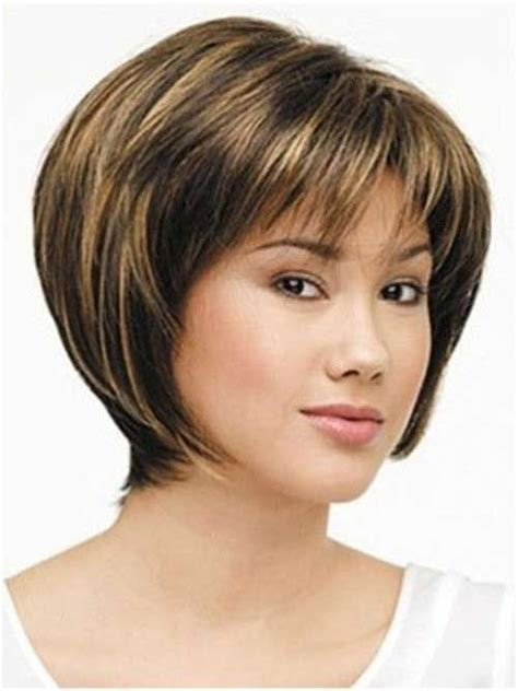 Stacked Layered Bob Haircut For Oval Faces | 17 best ideas about bangs for oval faces on pinterest