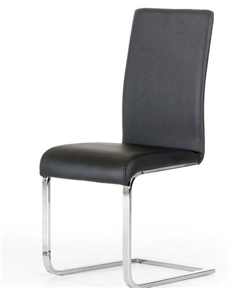modern style black dining chair 44d801 set of 2