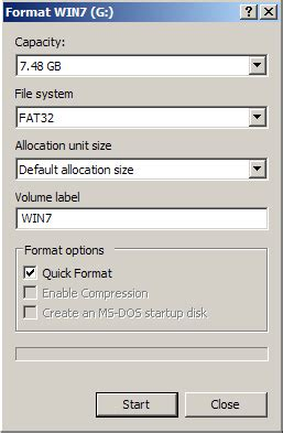 format without cd or usb installing windows 7 using a usb drive without cd dvd