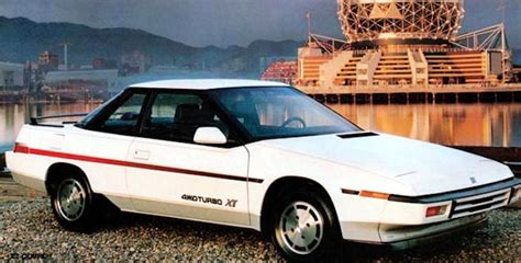 electric and cars manual 1991 subaru xt electronic toll collection 1980s alcyone xt 1985 91