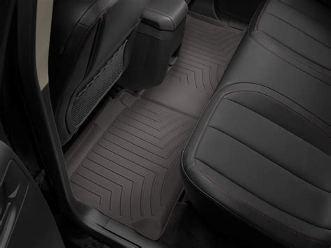 weathertech floor mats floorliner for chevrolet equinox 2011 2017 cocoa