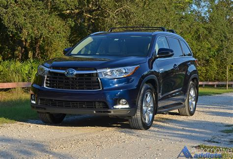 toyota highlander 2015 in our garage 2015 toyota highlander hybrid limited awd