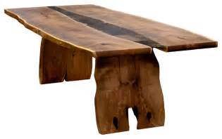 Wood Slab Dining Tables Wood Slab Table Contemporary Dining Tables By Earl Nesbitt Furniture