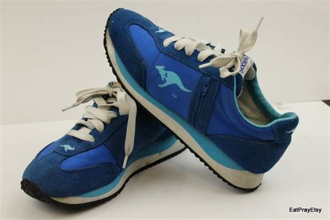 kangaroos shoes kangaroos shoes blue zipper tennis womens shoes 8 roos