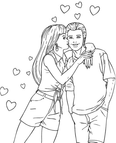 barbie stacie coloring pages barbie and ken coloring page