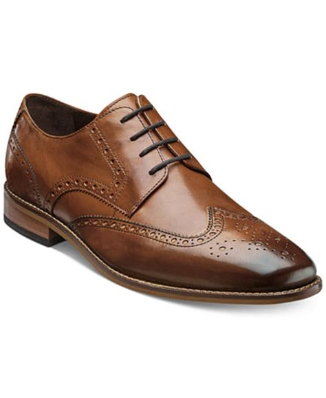 macys mens dress shoes florsheim s marino wingtip oxfords created for macy s