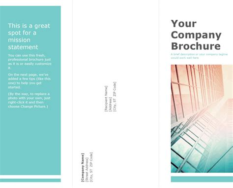 brochure template excel blank brochure template download free premium