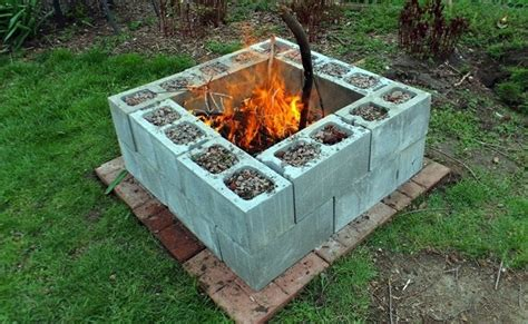 cinder block firepit diy pit 5 you can make bob vila