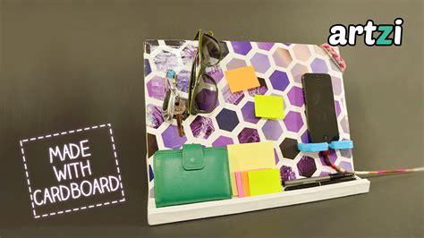 Diy Cardboard Desk Organizer by Diy Cardboard Desk Organizer Attachment Diy Craft