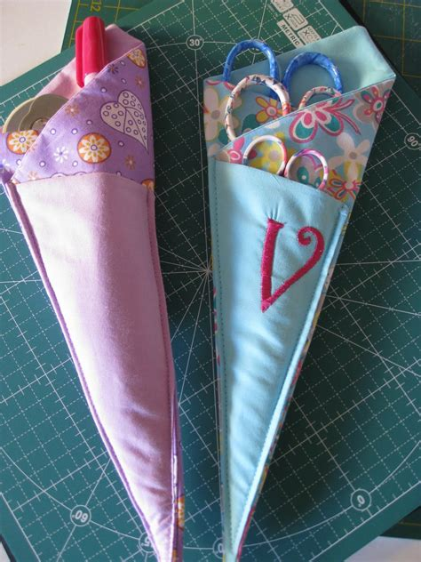pattern for scissor holder vicki s fabric creations tutorial pages