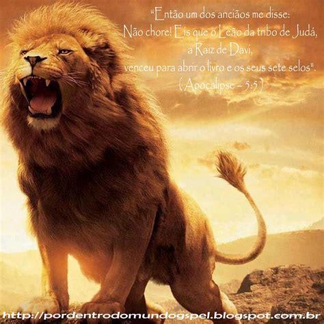 imagenes de leones con versiculos biblicos por dentro do mundo gospel gt vers 237 culo do dia