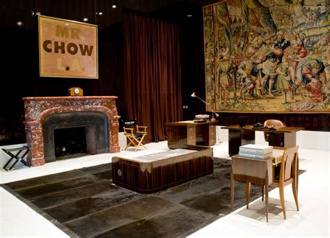 house of chow mr chow interiors at home with restaurateur michael chow in l a