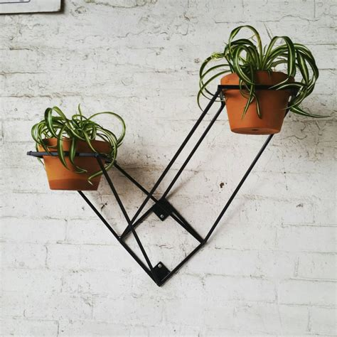 wall mounted plant holder wall mounted plant stand