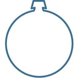 best photos of christmas ornament templates free