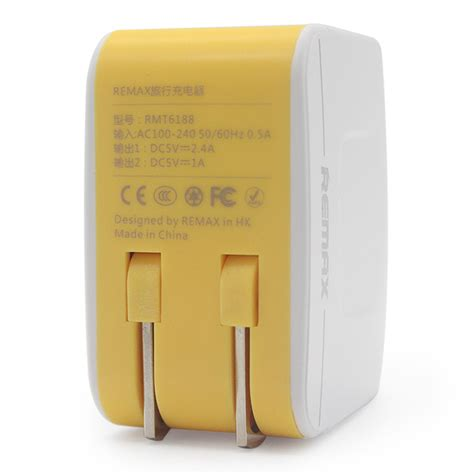 Adaptor Charger Remax remax adapter usb charger ห วชาร จ smart phone 2usb 3 4a