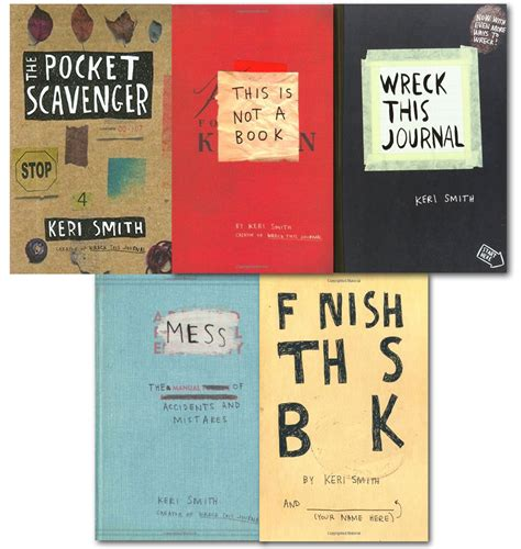 from mess to best books smith 5 books collection set wreck this journal mess