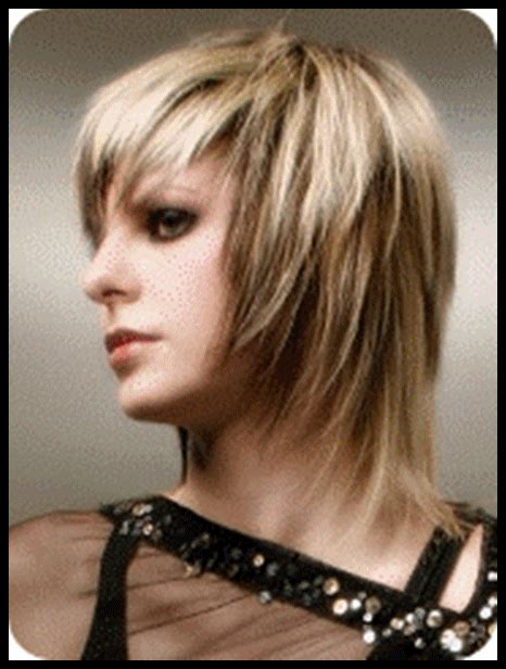 images front and back choppy med lengh hairstyles choppy layered haircuts for medium length hair to give you