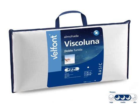 precio almohadas viscoelasticas almohada viscoel 225 stica viscoluna de velfont