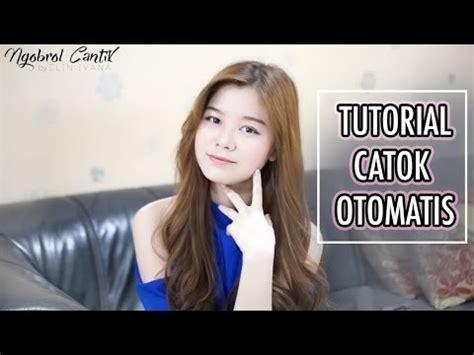 tutorial rambut indonesia catok rambut otomatis tutorial indonesia youtube