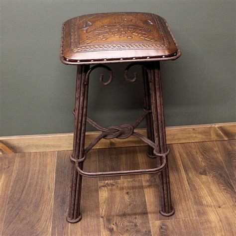 Iron Stool Color by Wrought Iron Bar Stools Pictured Here Is The Ventura Swivel Bar Stool With Forged Quality