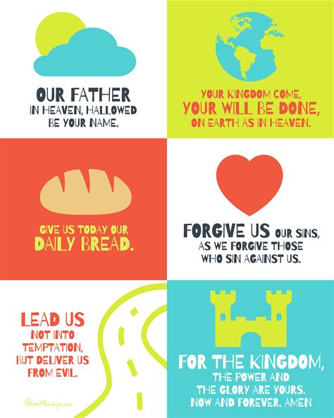 The Lord S Prayer Board Book prayers house mix