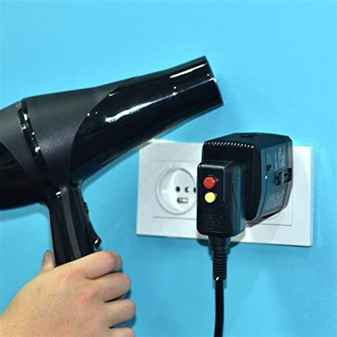 Hair Dryer Carrefour Dubai 2000w step converter 220v to 110v travel converter