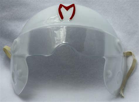 Helm Ink Centro Original Aple Green Limited speed racer vintage mask costume pvc