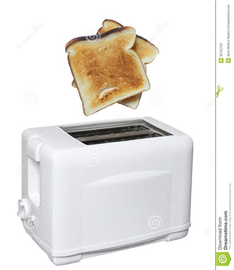 How To Get Toast Out Of Toaster toaster with toast ready stock image image of electricity 35752743