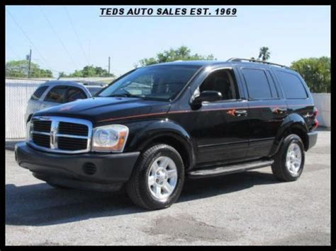 2004 dodge durango st purchase used 2004 dodge durango st in 4021 66th st n st
