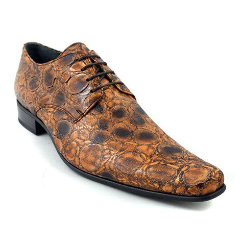 get noticed in brown derby mens shoes gucinari