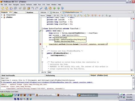 format html code in netbeans netbeans ide users cannot resolve symbol