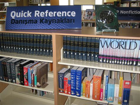 reference section of the library alf img showing gt library reference section