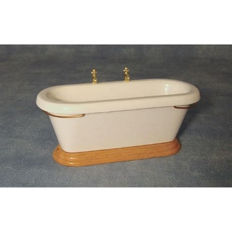 Dolls House Bath With Side Taps Df238