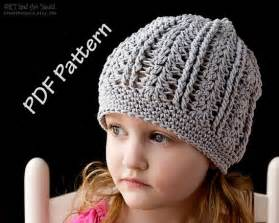 Free Slouchy Hat Crochet Patterns » Home Design 2017
