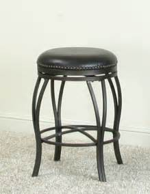 Backless Swivel Counter Stools by Sunset Trading 24 Backless Swivel Counter Stool