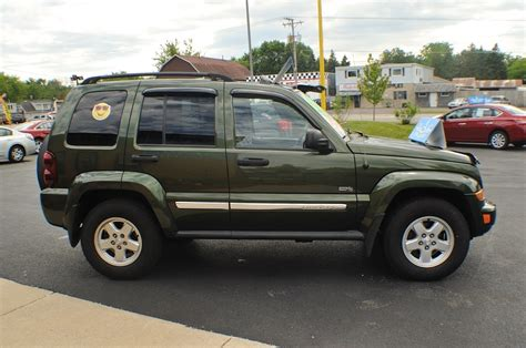 used jeep suv 2006 jeep liberty green 4x4 used suv sale